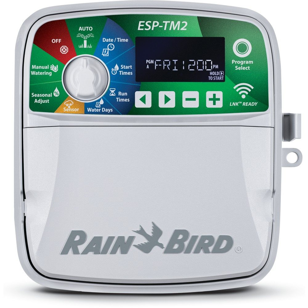 Rain Bird ESP-TM2 12 Station Outdoor Controller + LNK WIFI Module - TM2