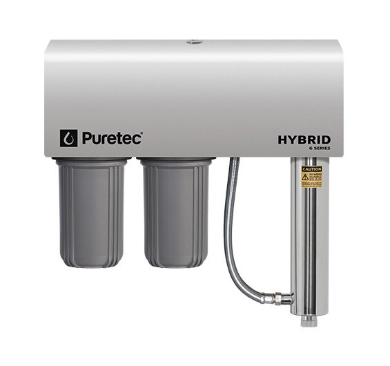Puretec Hybrid G6 Whole House UV Treatment System Max Flow 75l/min