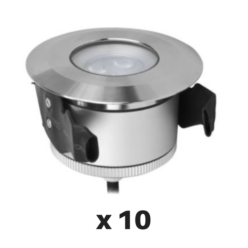 Decrolux LED Outdoor Inground 5W Neo-G Mini WW (Pack of 10)