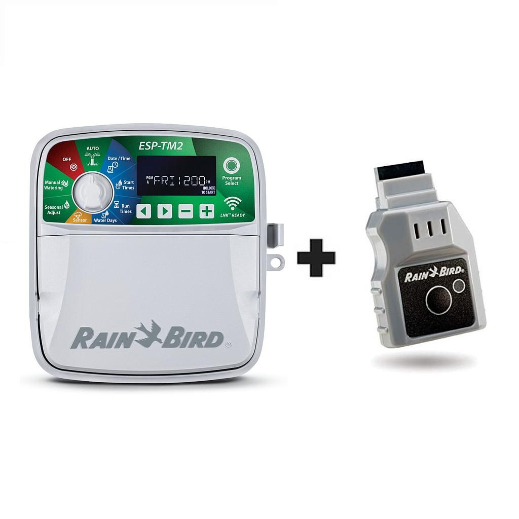 Rain Bird ESP-TM2 12 Station Outdoor Controller + LNK WIFI Module