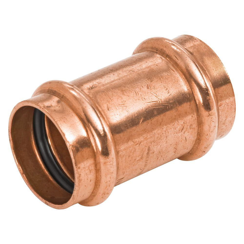 Copper Press Coupling 15mm