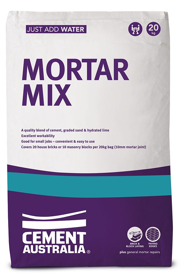 Mortar Pack 20Kg Drymix Cement