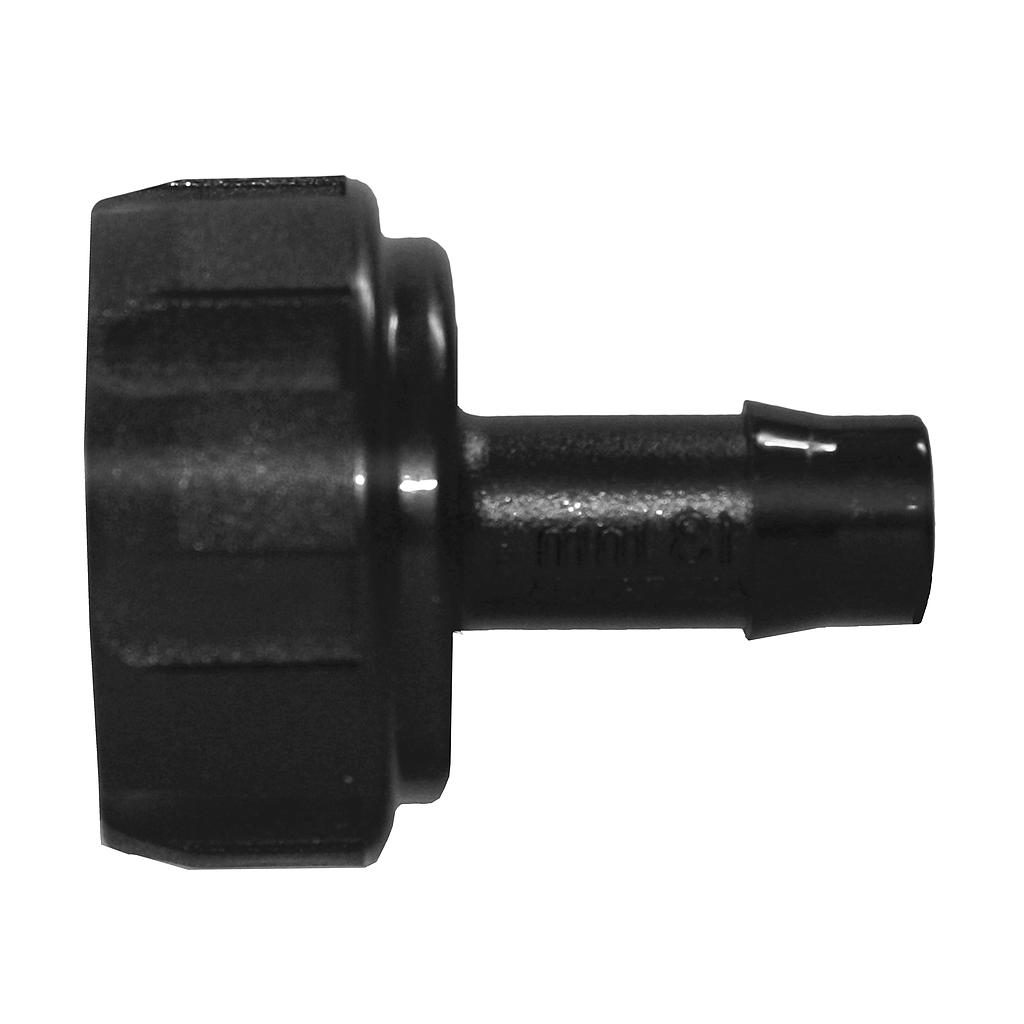 N1012 25mmFi x 13P Poly Nut & Tail