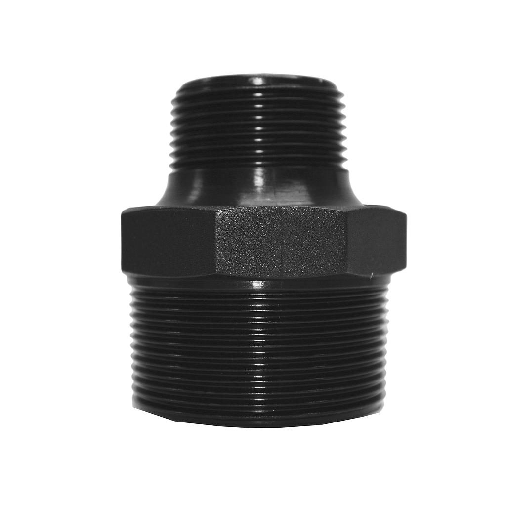 Poly Nipple Screwed 50mmx32mm