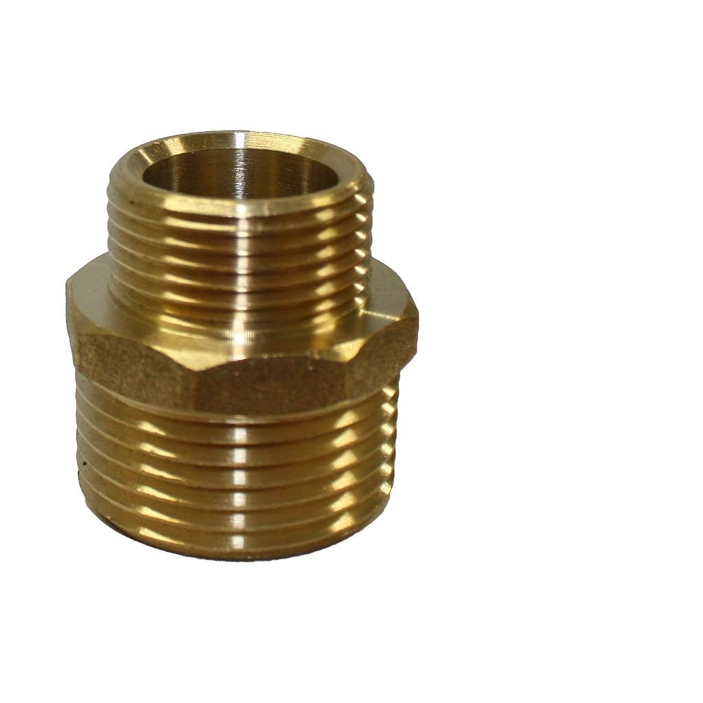 Brass Nipple 25mm x 20mm
