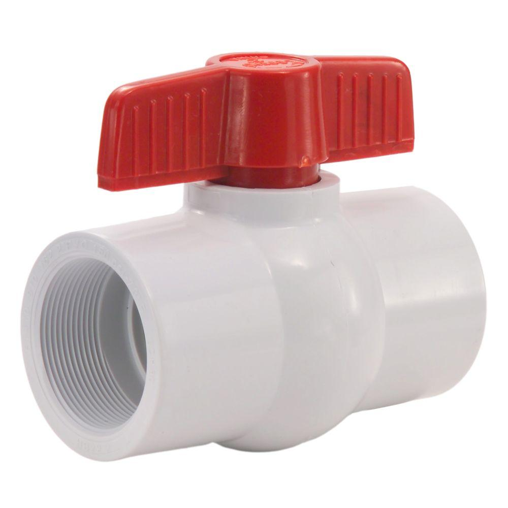 Ball Valve PVC Threaded 25mm