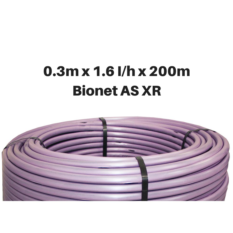 Netafim Bionet AS XR 1.6lhr 0.3m 200m Purple