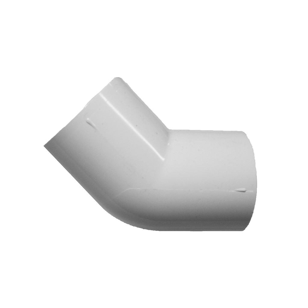 PVC Elbow 45D 15mm