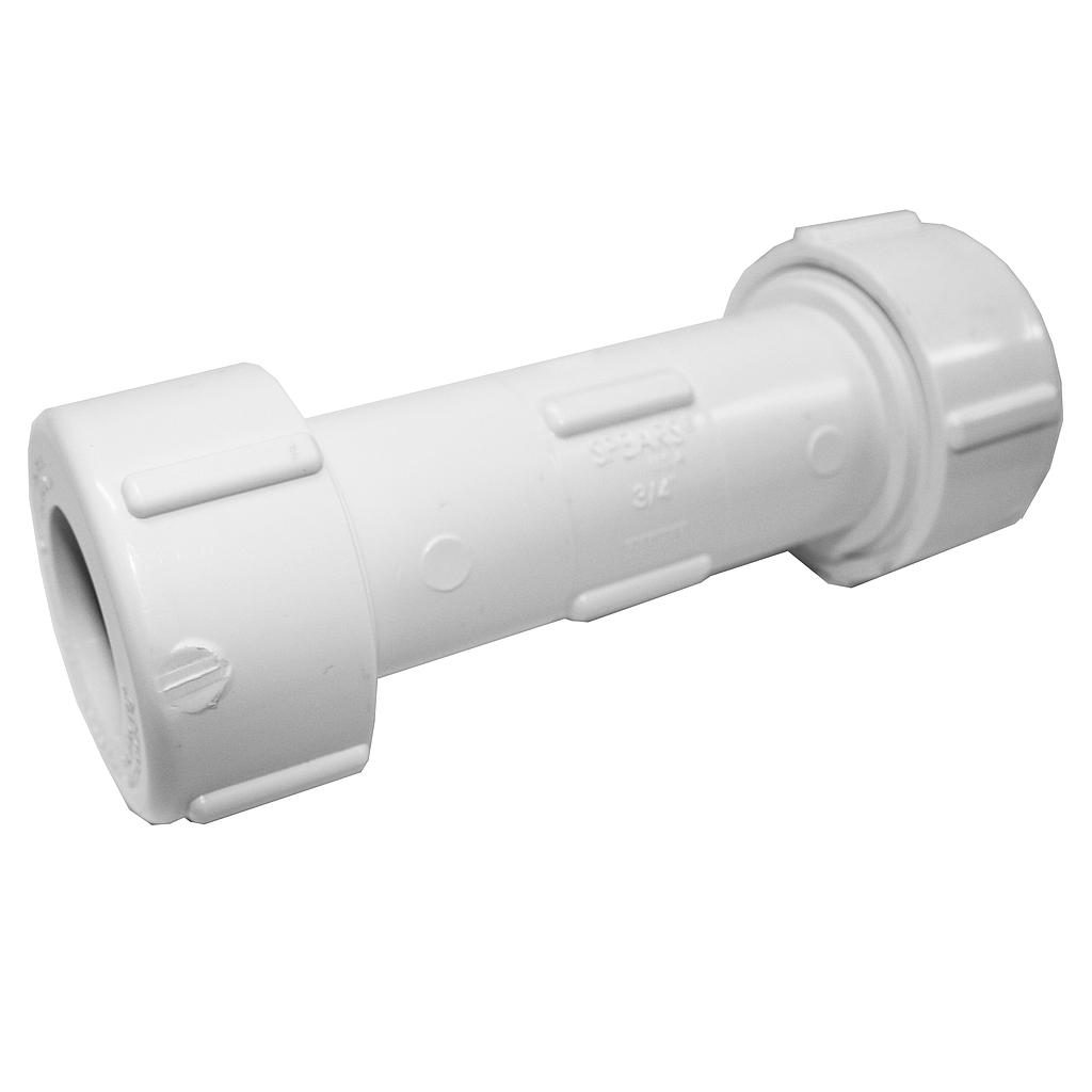 PVC Compression Coupling 20mm