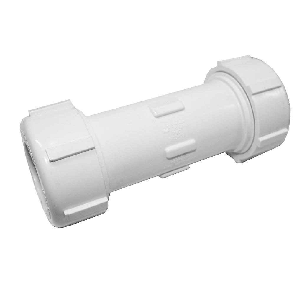 PVC Compression Coupling 25mm