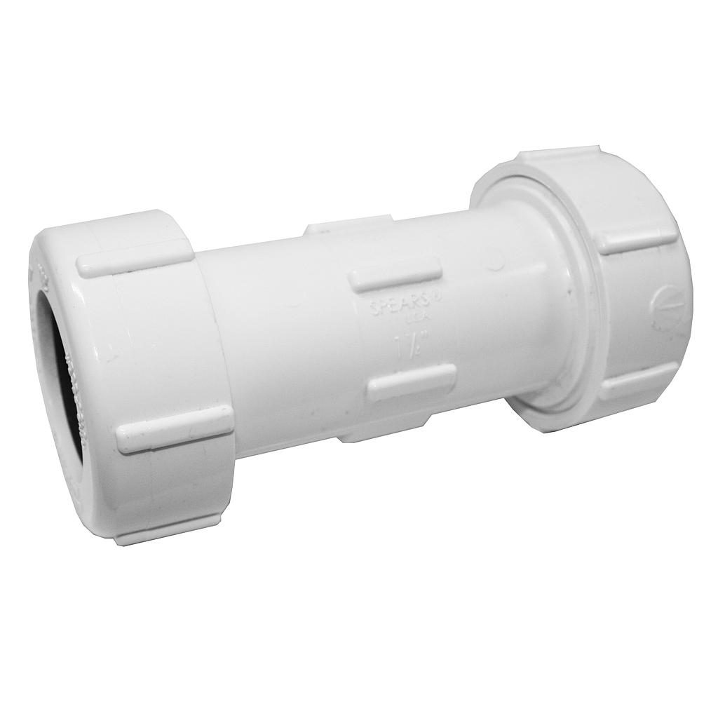 PVC Compression Coupling 32mm